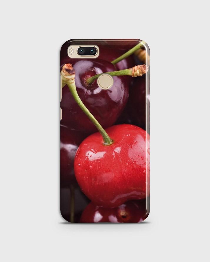 best loved e4a74 62823 Xiaomi Mi A1 Cover 3d Hard case Cherry Print- 1cover2128