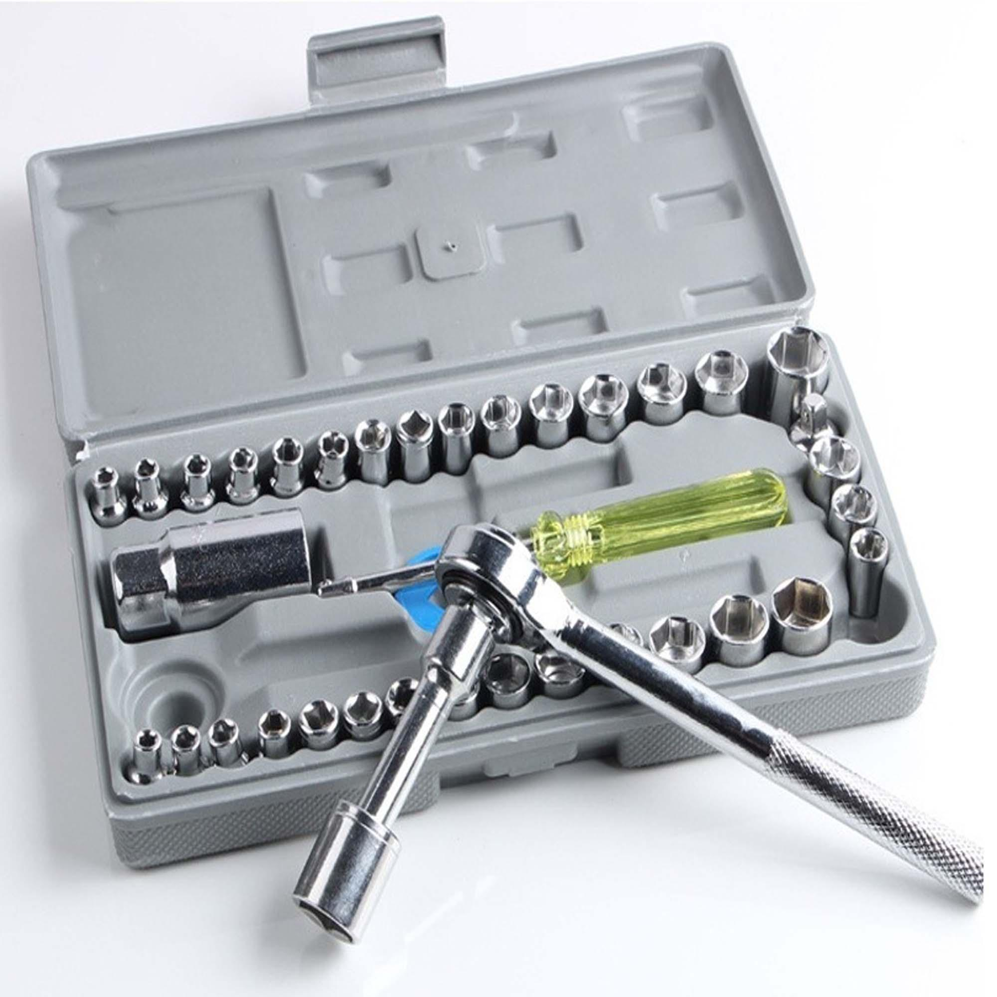 Tools Equipments Online In Pakistan House Wiring Aiwa 40 Pcs Tool Kit Set By Meerubs Collections Original