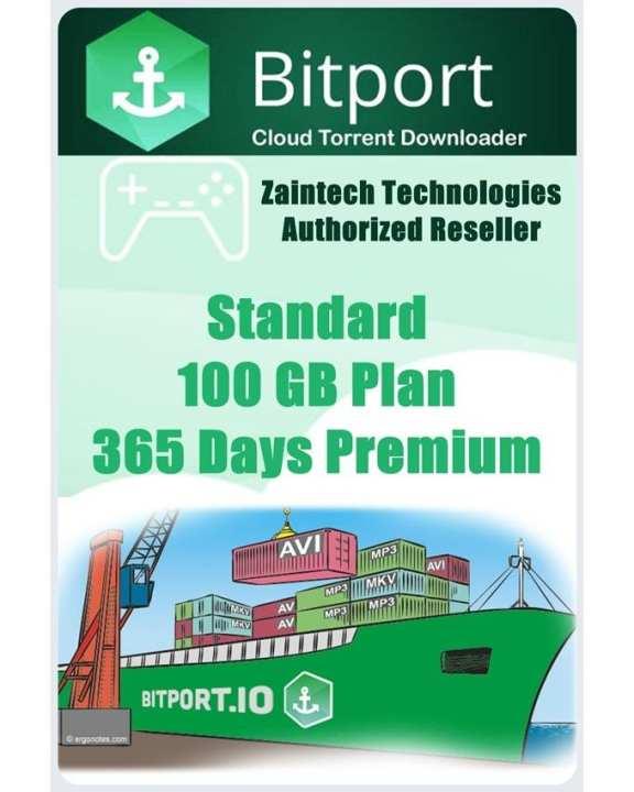 Bitport.io Premium - Plan Standard - 100 GB