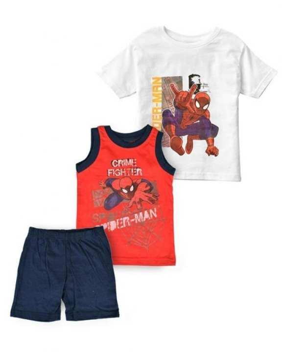 Spider Man Kids 3 Pcs Suit Set