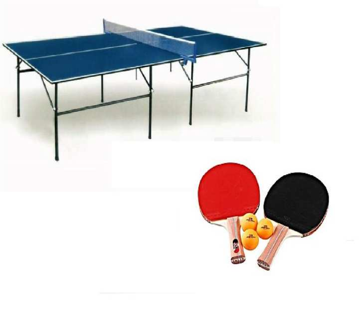 Table Tennis Fold Able Table Tennis With Net, Rackets & Balls