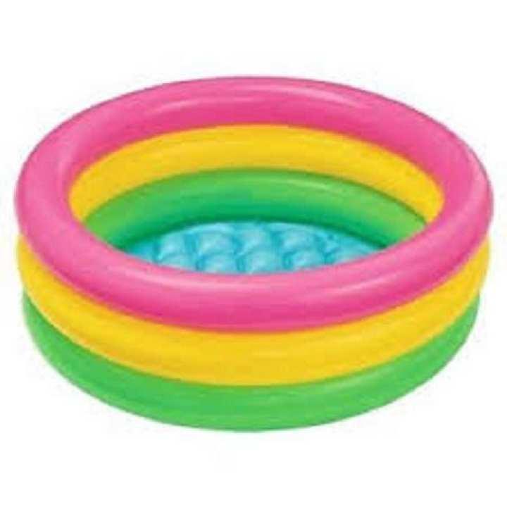 Baby Pool 3-Ring Sunset Glow - Intex 58924Np