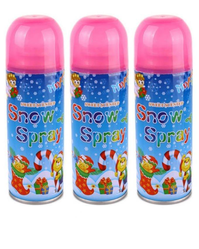 Pack of 3 - 01 - Snow Spray - Small