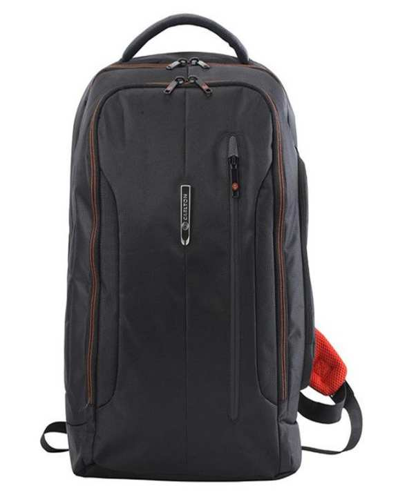 CARLTON BARON III LAPTOP BACKPACK (BLACK)