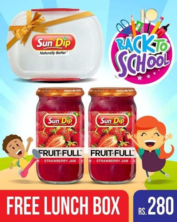 Fruit Full Strawberry Jam - 430gm Back to School