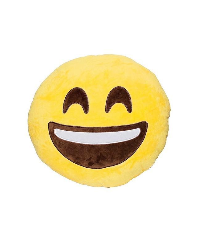 Yellow Laughing Eyes Closed Emoji Pillow Smiley Emoticon Buy Sell Custom Monkey Covering Eyes Emoji Pillow