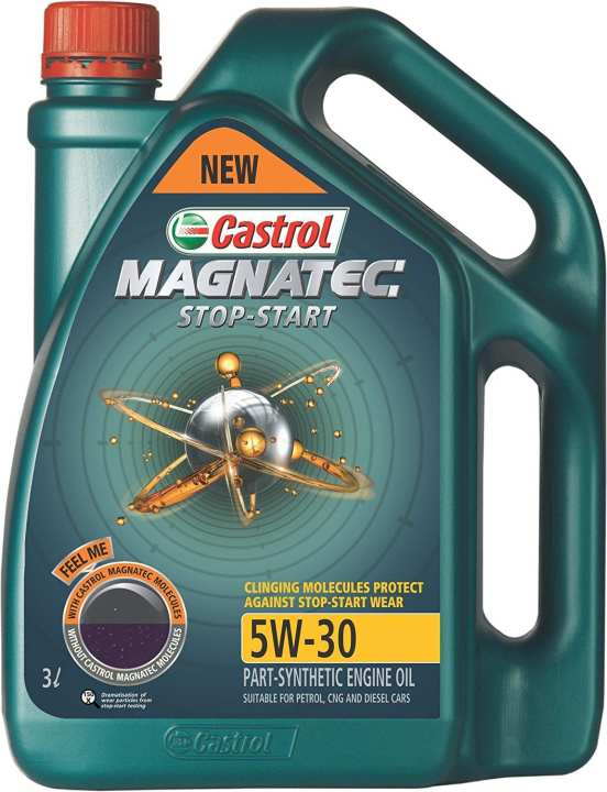 Magnetic 5W-30 Fully Synthetic 4LT Imported with free OIl filter & Tissue Box