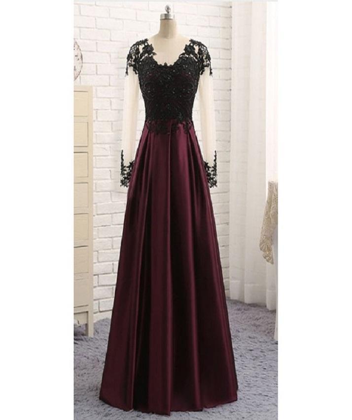 bd1a3a14cd Elegant Maroon Maxi Dress For Women