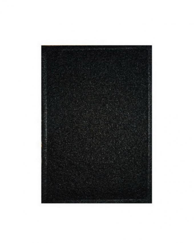 Rubber Door Mat - Black