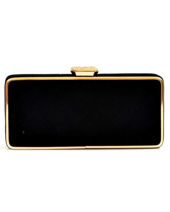 Black Fancy Clutch Bag for Women - 20300538