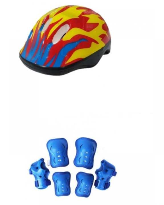 Cycling Helmet - Knee, Elbow & Wrist Pads