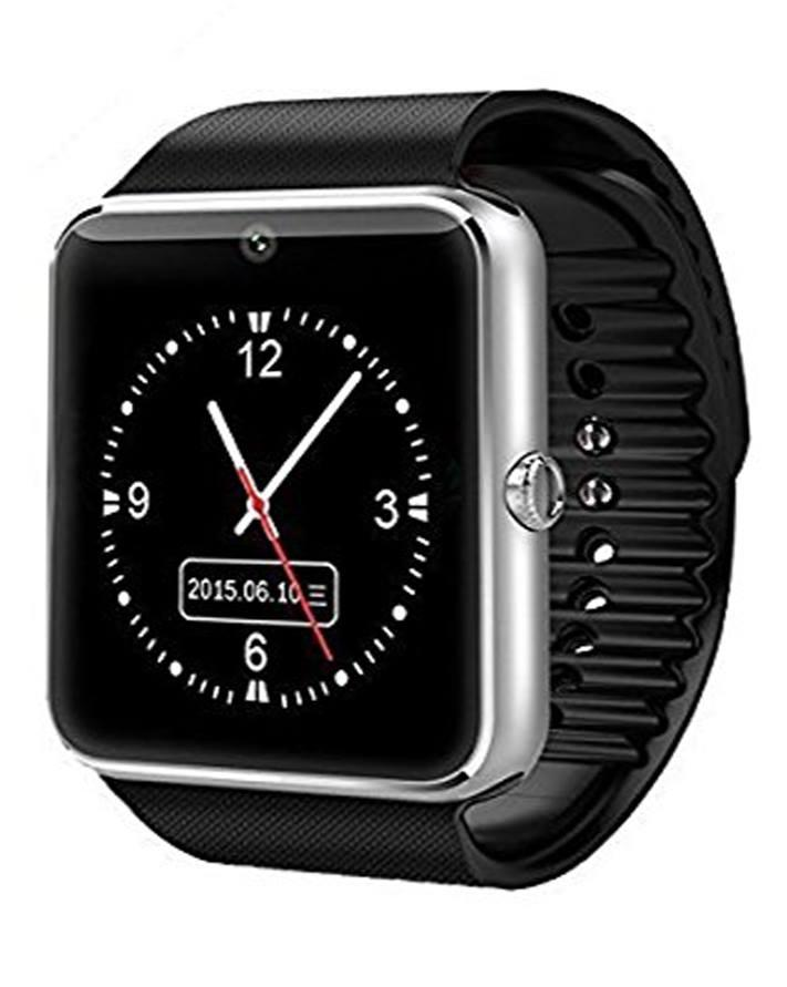 GT08 - Smart Watch For All iPhones & Android Phones - Black