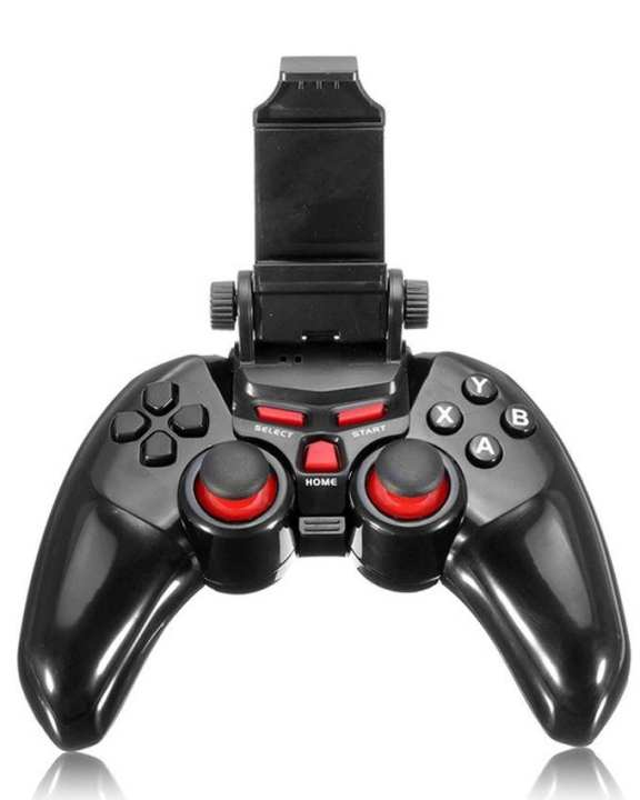 Bluetooth Gamepad Joystick for Android, iOS & Windows - Black
