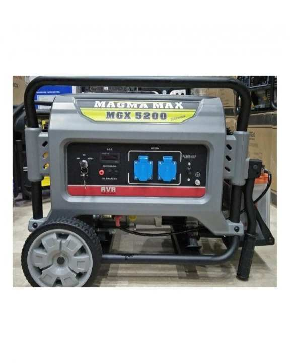 MAX 4.0 KVA  Petrol & Gas Generator MGX5200- Self Start - With Gas Kit & BATTERY