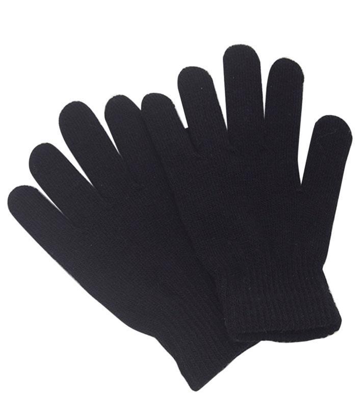 75ec2aadba 1 Pair Wool Winter Gloves for Men and Women-Black