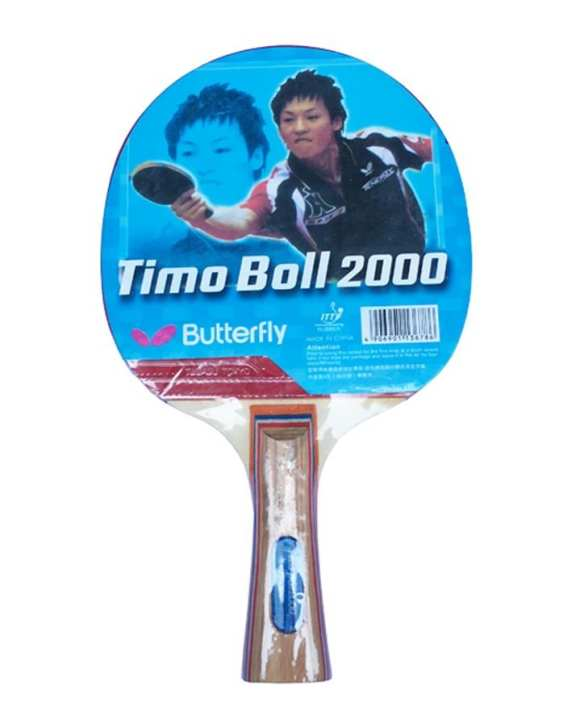 Butterfly Timo Boll 2000 Table Tennis Ping Pong Racket Long Handle