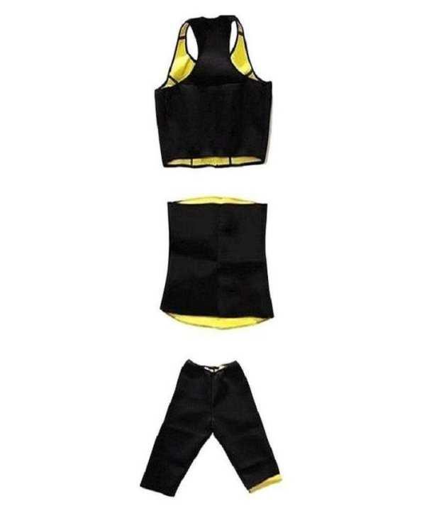 Pack of 3 - Hot Shaper Belt, Trouser & Bra