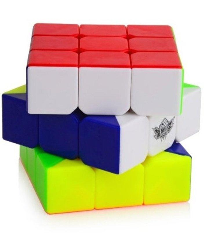 Rubiks speed cube puzzle 3X3 56mm sticker less Cube Toy For Adults / Kids