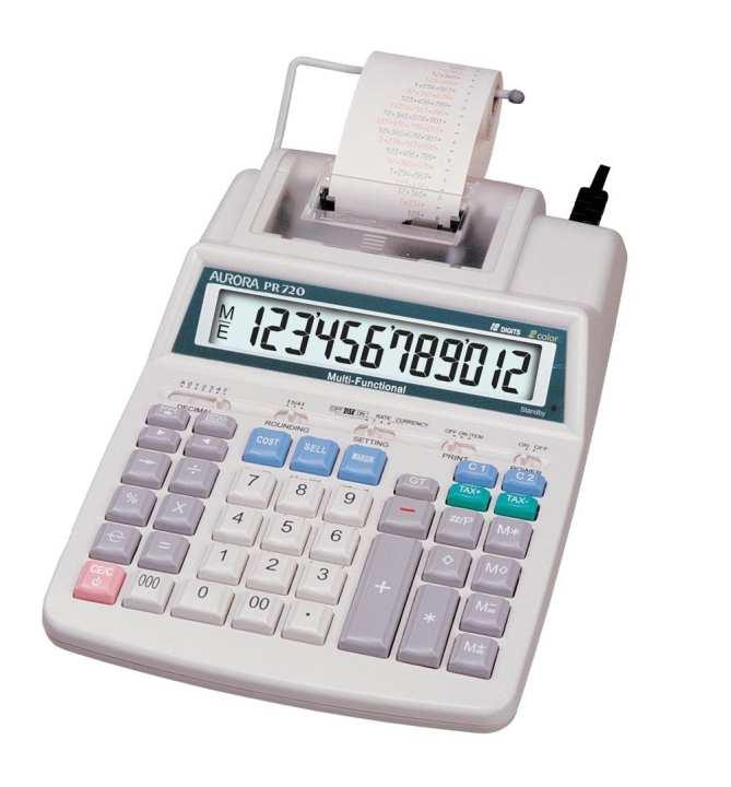 MFP-6100 - Printing Calculator - Offwhite