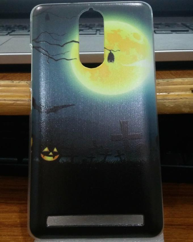 Pack of 2 Printed back covers for Lenovo Vibe K5 Note