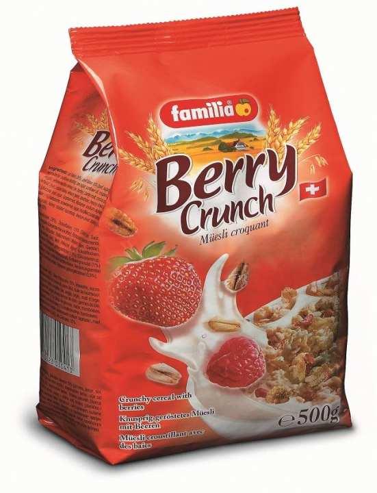 Muesli/Cereals - Berry Crunch (500g)