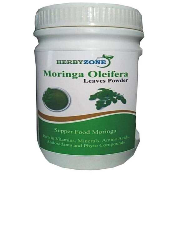 Moringa Oleifera Leaves Powder, Natural, Organic, 65 Grm