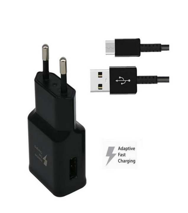 S8 original Fast Charger with cable - Black