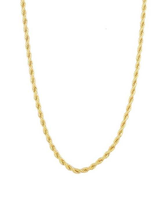 Golden Gold Plated Robe Indian Chain For Women - jh721