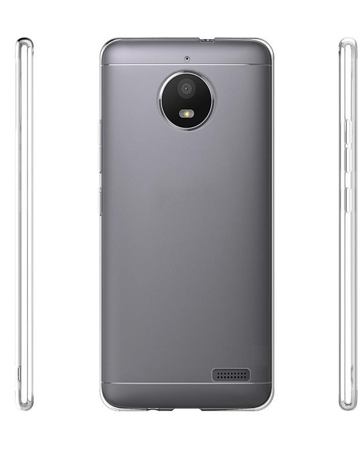 5ef163b8f5 Motorola Moto E4 Back Cover Jelly Case - Transparent