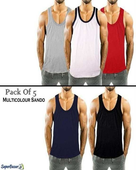 Pack Of 5 Gyming Tops