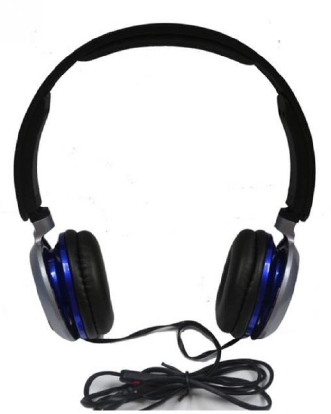 HPM 490  - Go Pro Sound Stereo Headphones - Black