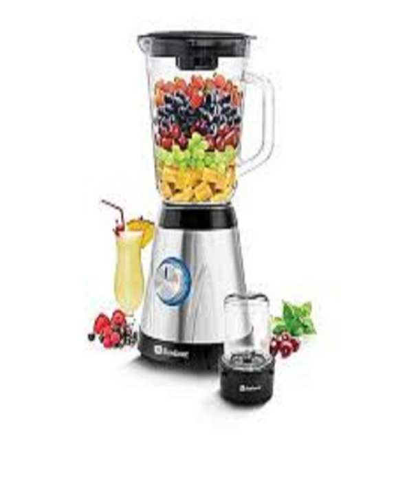 BL600 - Blender - ICE CRUSHER - Black And Silver
