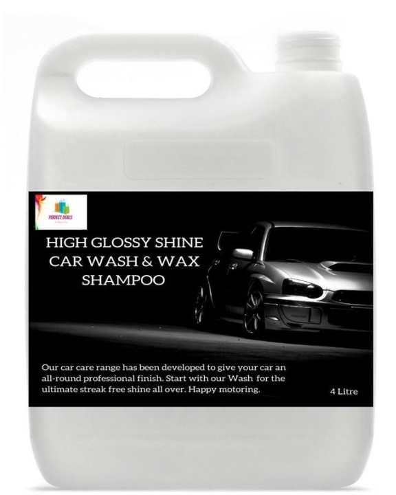 High Glossy Shine Car Wash & Wax shampoo