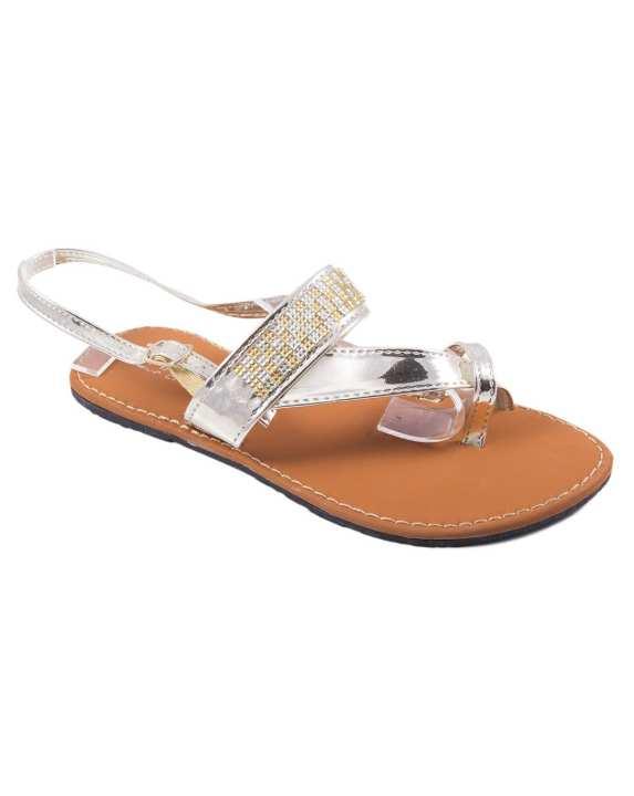 Ladies Stylish Sandals 268 - Golden Color