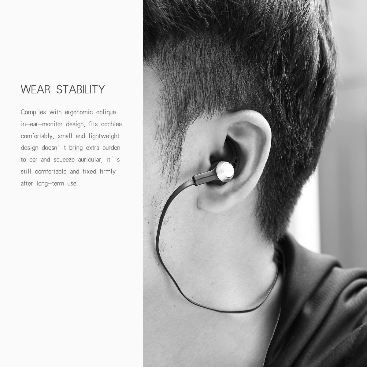 Baseus Licolor Magnet Bluetooth Wireless In-ear Earphone Headset Mic For iPhone Samsung Huawei