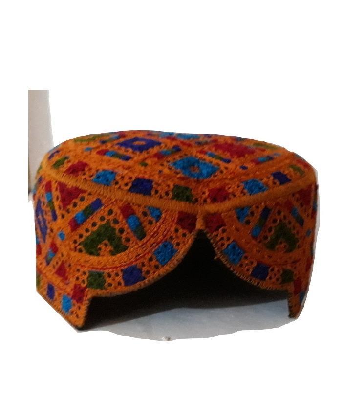 Sindhi Topi Cap Multicolor