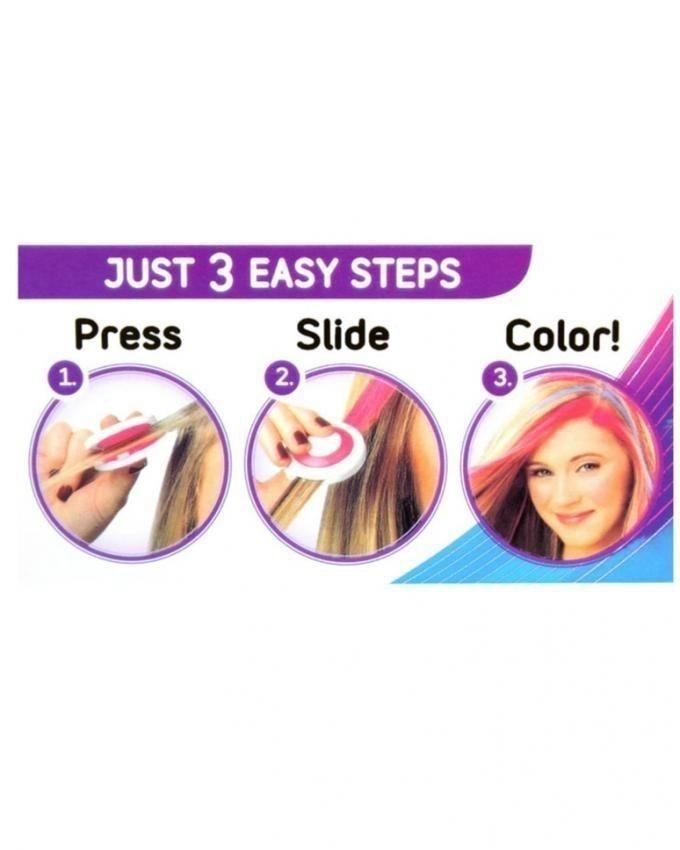 Pack of 4 - Temporary Hair Chalk - Multi Color