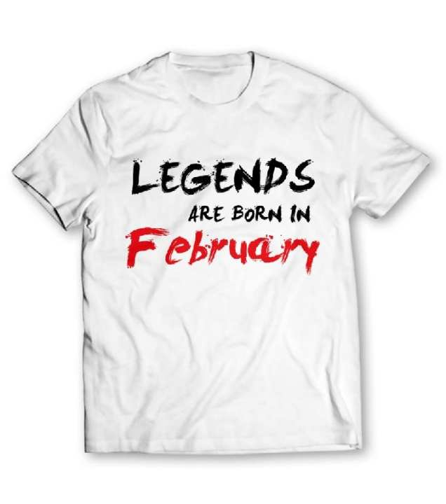 February Printed Graphic T-Shirt