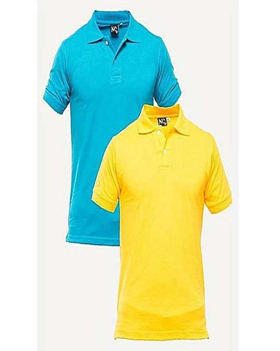 Pack Of 2 Multicolor Printed T-Shirts For Men