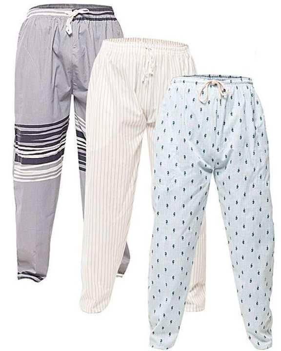 Pack Of 3 - Multicolor Cotton trouser For Men