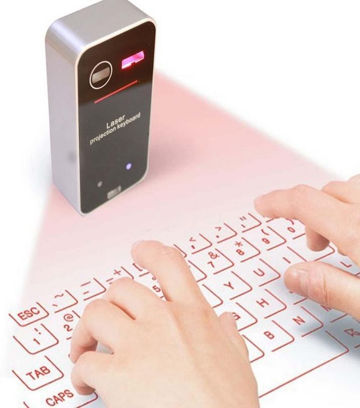 AGS - Wireless Laser Projection Bluetooth Virtual Keyboard