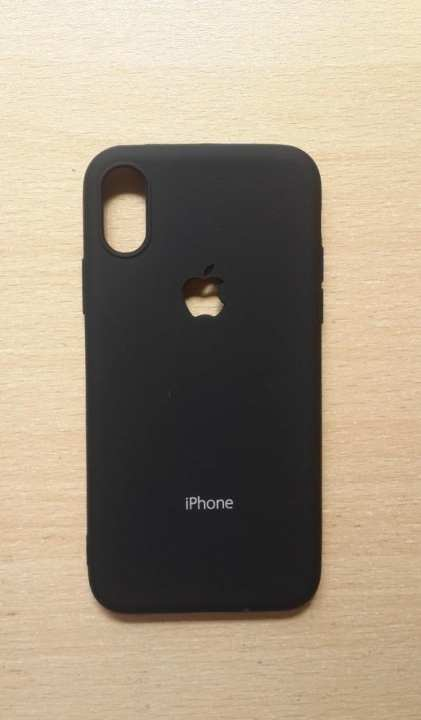 iPhone X Back cover soft silicone