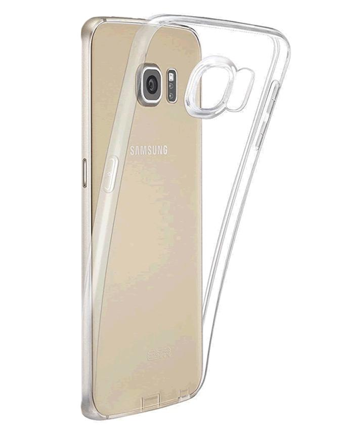 HD Anti Dust Clear Case For Samsung S7