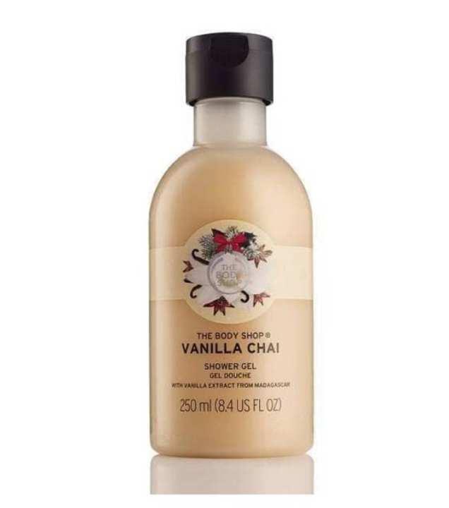 The Body Shop Vanilla Chai Shower Gel 250Ml