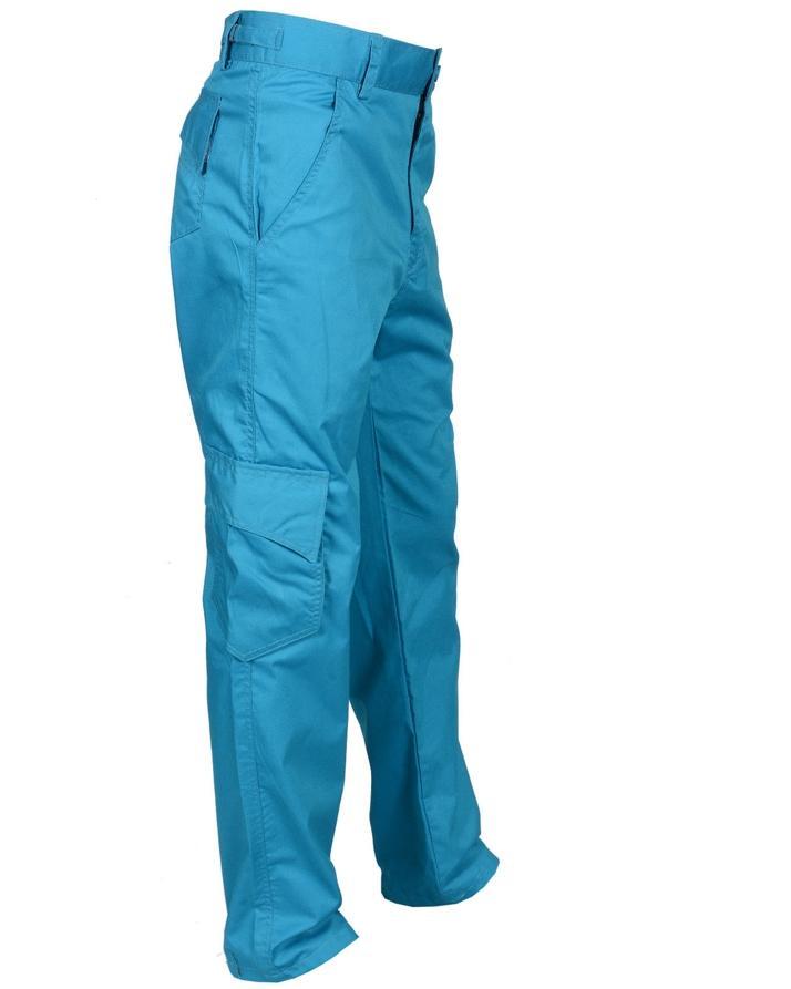 Men'S Blue Tactical Pro Cargo Pants Casual Cargo Trouser