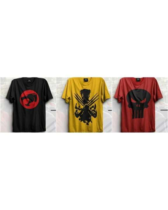 Pack of 3 - Printed T-Shirts