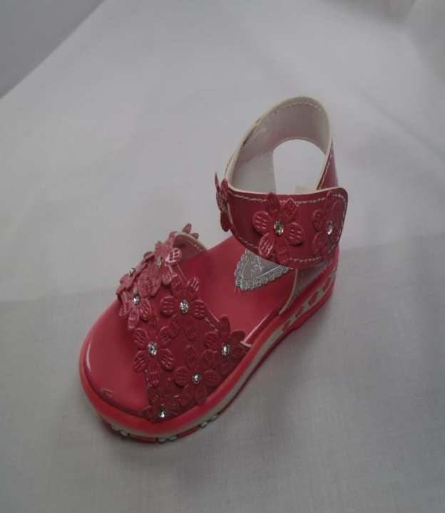 Pink Color Synthetic Fancy Sandal For Girls - 275-50661