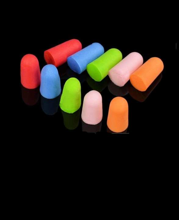 Pack Of 5 - Pair Of Ear Plugs - Multicolour