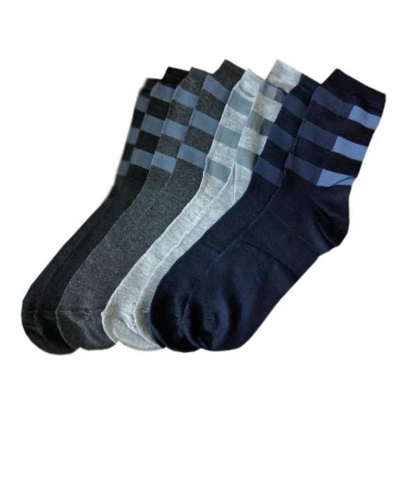 Pack of 4 - Cotton Socks for Men