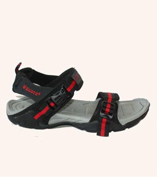 Black Sandal For Men